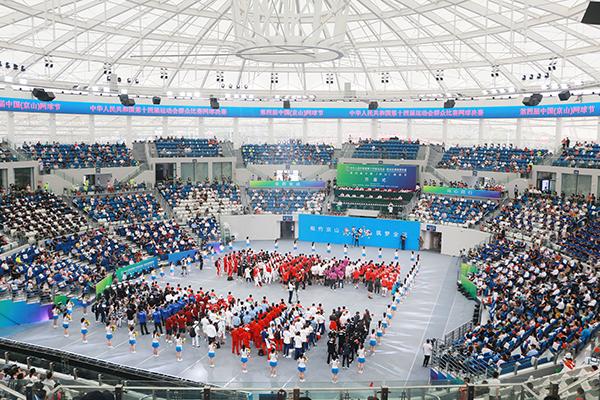 第十四届全运会群众比赛网球决赛在京山开幕